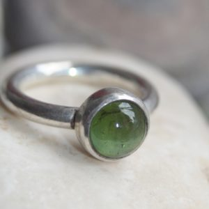 Tourmaline Chunky Sterling Silver Ring, Gemstone Ring, Handmade Silver Ring, Made to Order, Semi - precious gemstone ring, , handmade sterling silver ring, silver jewellery, silver handmade jewellery, made to measure, bespoke jewellery, made in Britain, handcrafted jewellery, blue marble jewellery, etsy shop, urban makers, London makers, gift for her
