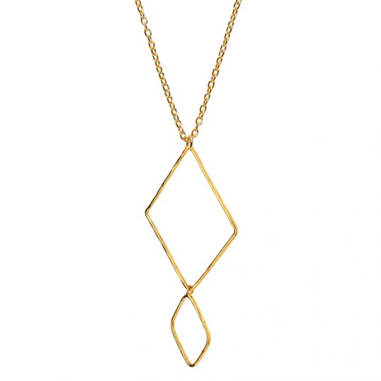 Mirabelle,goldplated,necklace, fairtrade jewellery